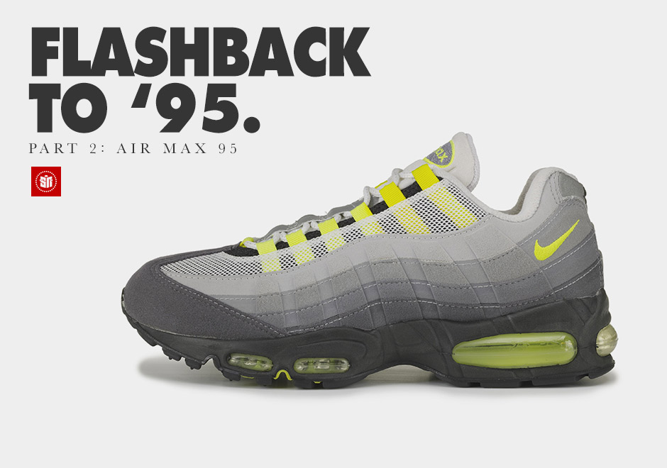 sneakers for cheap f1861 f04cc Flashback to '95: The Nike Air Max 95 - SneakerNews.com