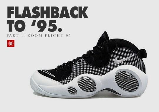 94075aebfda920 Flashback to  95  The Nike Zoom Flight  95