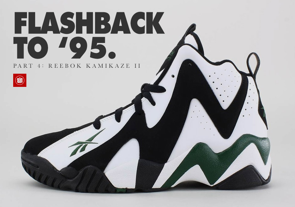 efb1cbe57 Flashback to  95  The Reebok Kamikaze II - SneakerNews.com