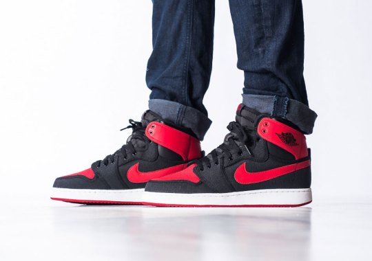 """Jordan Brand Brings """"Bred"""" Back To This '85 Original"""