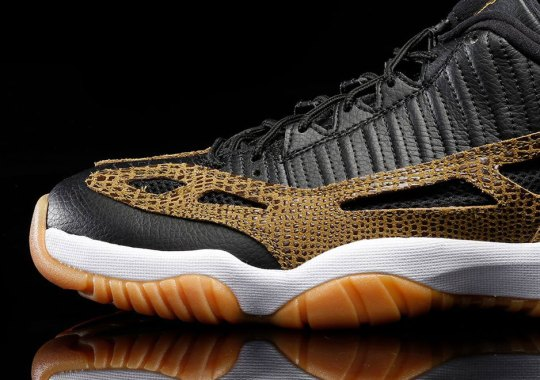 """Another Look At The Air Jordan 11 IE Low """"Croc"""""""