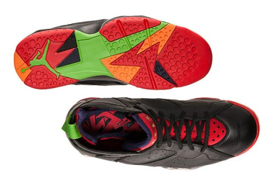 "Peep The Dope Insoles On The Air Jordan 7 ""Marvin The Martian"""