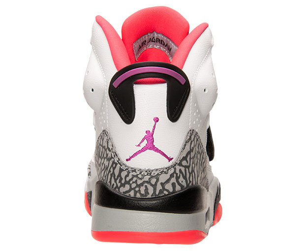 meet 82b9c 9a907 ... sweden jordan son of mars low color white fuchsia flash black wolf grey  hot lava style