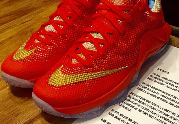 "info for 5eeb2 e9e73 Only LeBron s Inner Circle Got The Nike LeBron 12 Low ""Trainwreck"""