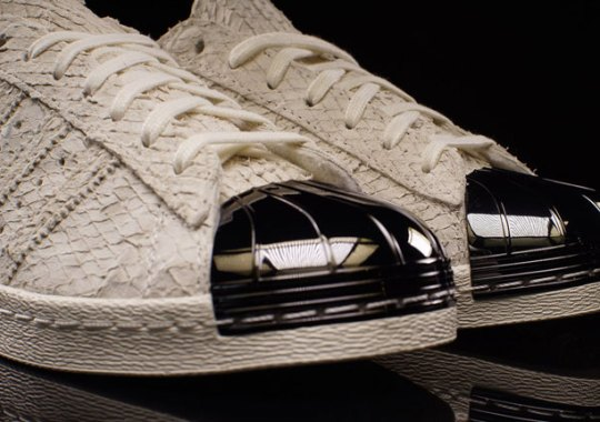 Metal Toes and Snake Uppers In adidas' Latest Superstar Release