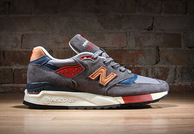 High Quaity New Balance M998 Navy/Orange
