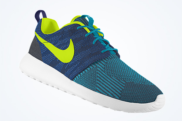 best loved bf5ed 70362 ... Check out the latest NIKEiD options on this jacquard woven Roshe Run  and head over to