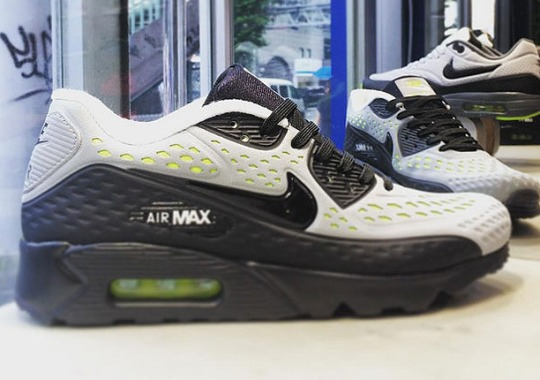 """The Nike Air Max 90 Ultra BR Pays Homage To """"Neon"""""""