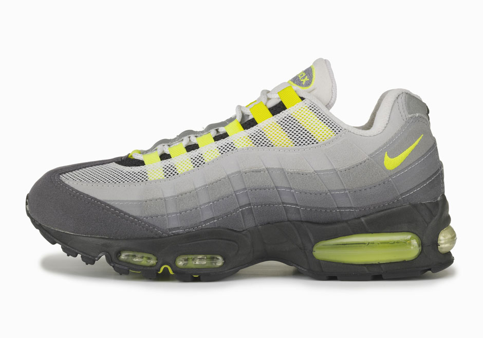 The Origins Of The Nike Air Max 95