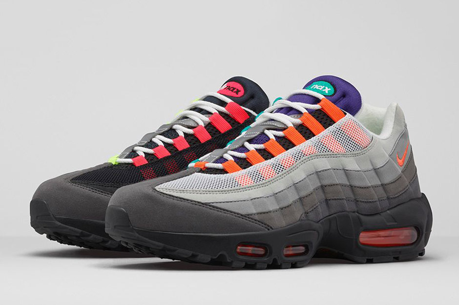 "size 40 066a5 8c1b9 Nike Air Max 95 ""Greedy"". Color  Black Safety Orange-Volt Style Code   810374-078. Release Date  August 6th, 2015. Price   170"