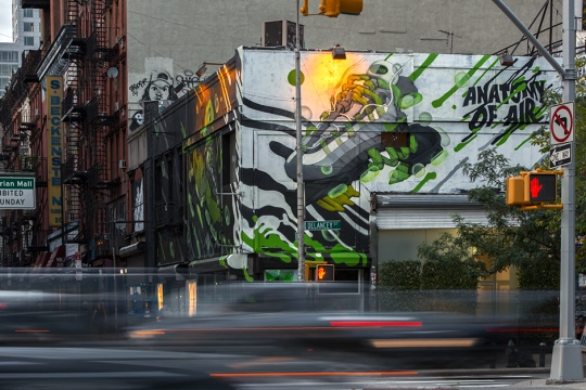 Must See In NYC: The Nike Air Max 95 Mural In LES