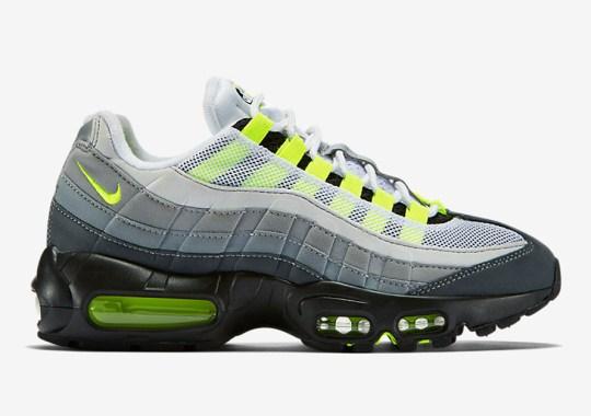"The Nike Air Max 95 ""Neon"" Returns In Original Form"
