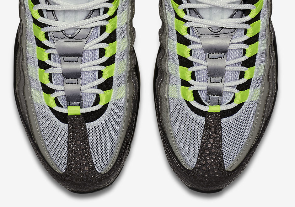 "sports shoes 33695 47e05 One of the most coveted Nike Air Max 95 releases ever was the 2001 hit  known as the ""Green Monster"". The shoes featured the signature gradient but  in darker ..."