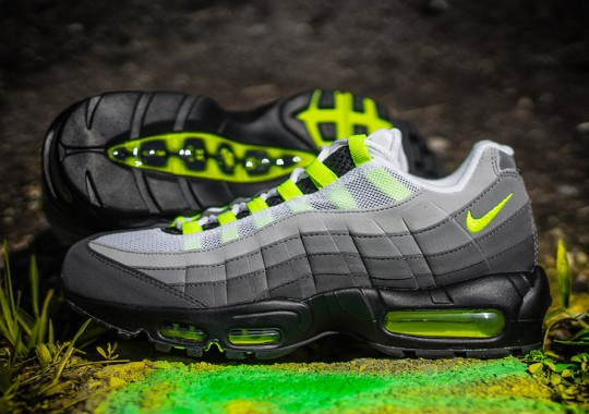 """Here's The Release Date For The Nike Air Max 95 OG """"Neon"""""""