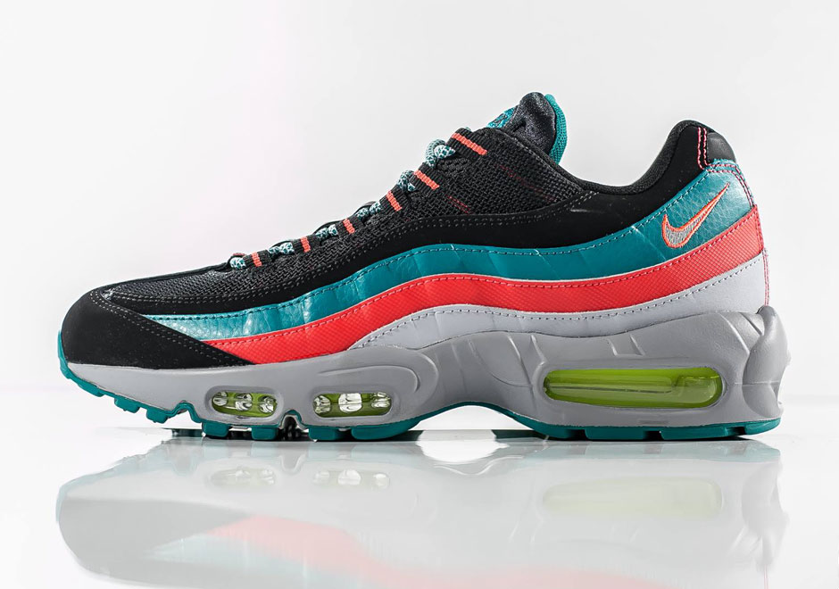 promo code bfa04 0d182 South Beach Is Back Thanks To The Nike Air Max 95 high-quality ...