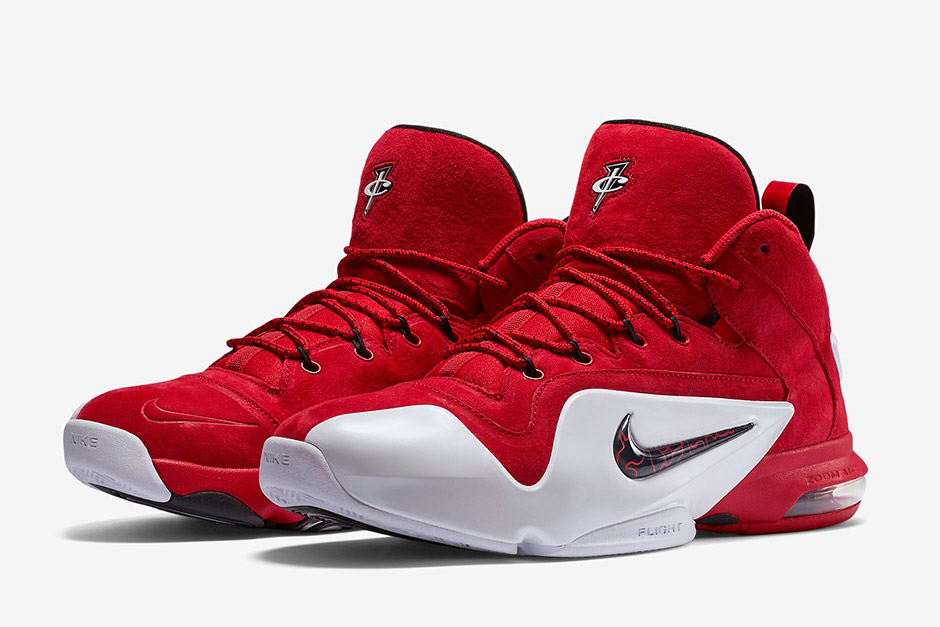 Nike Air Penny 6 Cheap Red Suede