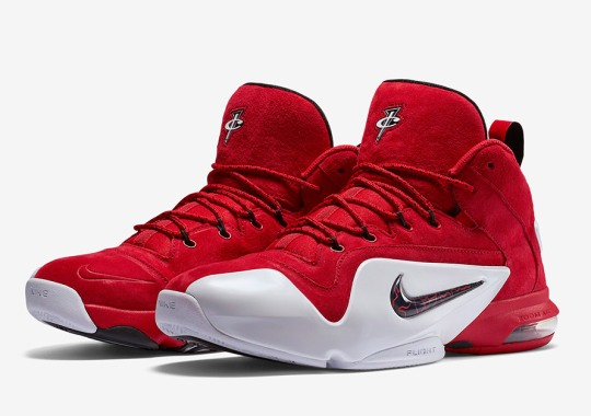 """83f9366c2419d Nike Air Penny 6 """"Red Suede"""" – Release Date"""