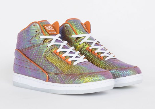 "A Detailed Look At The Nike Air Python ""Iridescent"""
