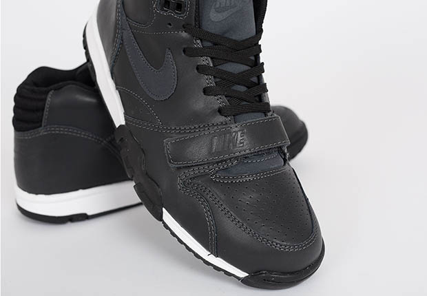 80eeea6691037e ... Air Trainer 1 Mid in Anthracite Black at select Nike Sportswear  retailers soon. Source  suppa. show comments