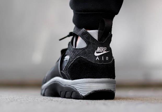 Nike Air Trener Huarache Svart Kule Grå 3nXJA