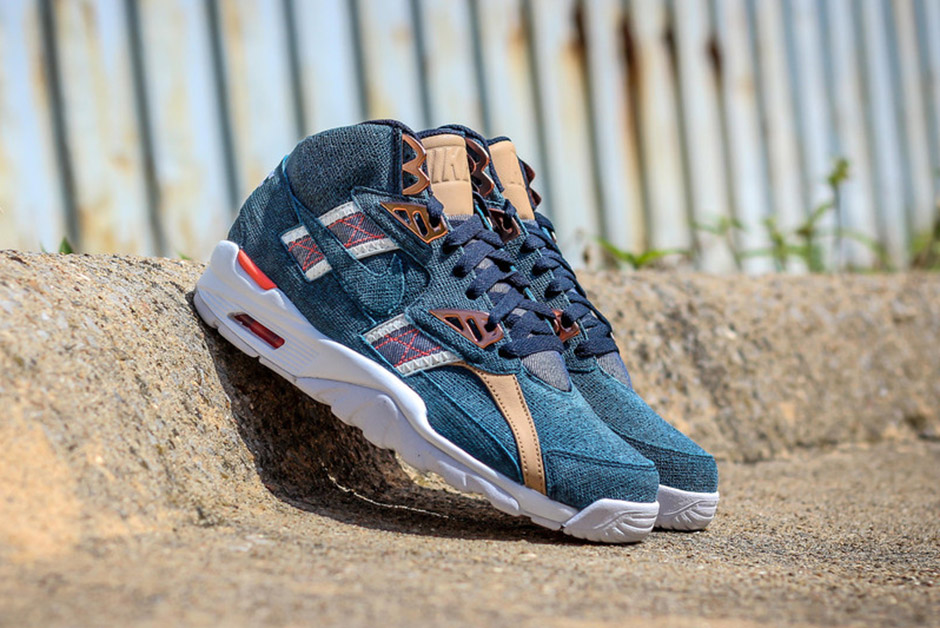 new arrival 40ee2 c2c46 Bo Jackson s OG Nike s Get A Twill And Denim Upgrade - SneakerNews.com