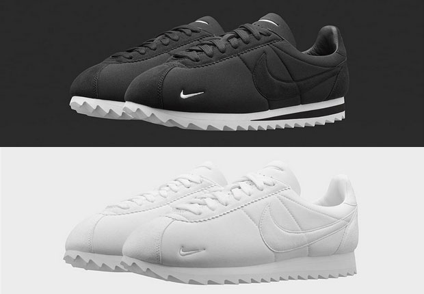 wholesale dealer 09148 e8e0a denmark cortez big tooth white nikelab just unveiled a slightly altered  version of this pop culture