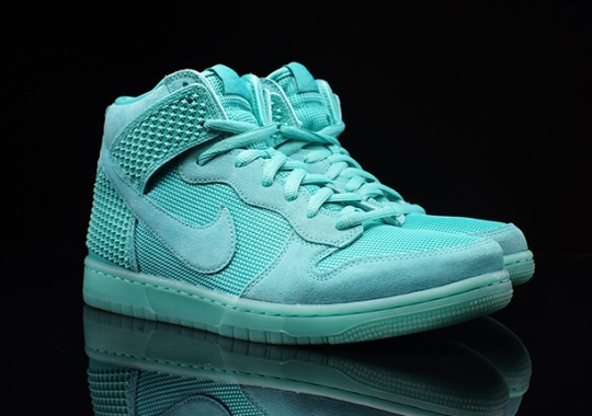 "Nike Dunk High ""Light Retro"" With Glowing Soles"