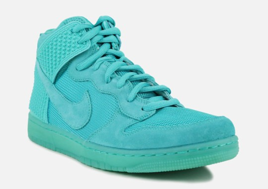 Tonal Teal On This Enticing Nike Dunk High Release