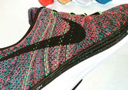 "A New Take On ""Multi-Color"" With The Nike Flyknit Lunar 3"