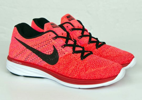 "Nike Flyknit Lunar 3 ""University Red"""