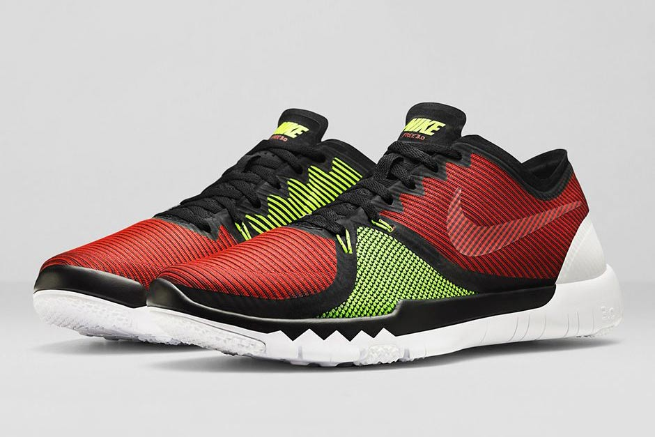 Nike Free Trainer 3.0 V4 - Volt - Team Red - SneakerNews.com