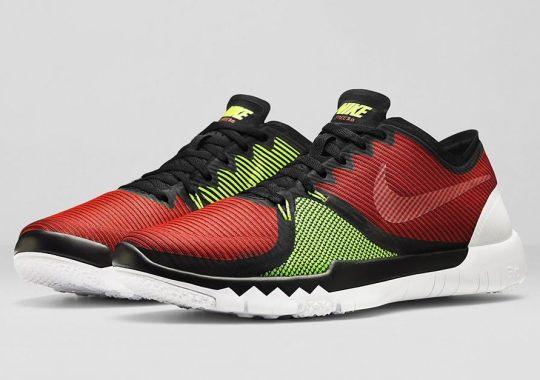 de4ecbeb5ef7 Nike Free Trainer 3.0 V4 – Volt – Team Red