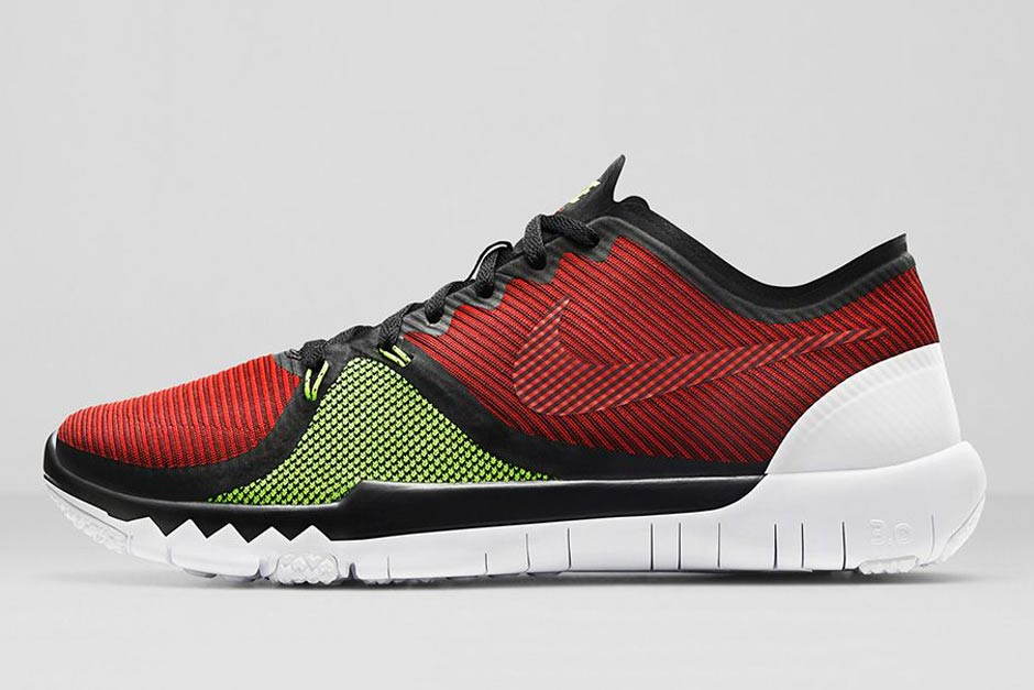 ee120e6f0bd Nike Free Trainer 3.0 V4 - Volt - Team Red - SneakerNews.com