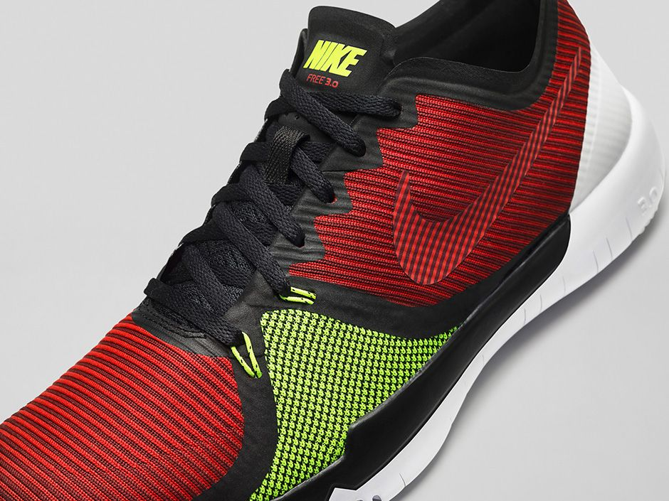 b6f53858671 Nike Free Trainer 3.0 V4 Color  Black University Red Volt-Team Red Style  Code  749361-066. Release Date  July 8th
