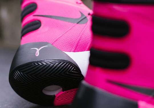 "The Nike Hyperdunk 2015 Continues The ""Think Pink"" Tradition"