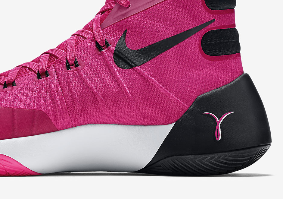 nike hyperdunk 2012 black and white pink nike hyperdunk