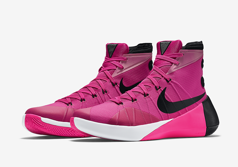 "A Detailed Look At The Nike Hyperdunk 2015 ""Think Pink"""