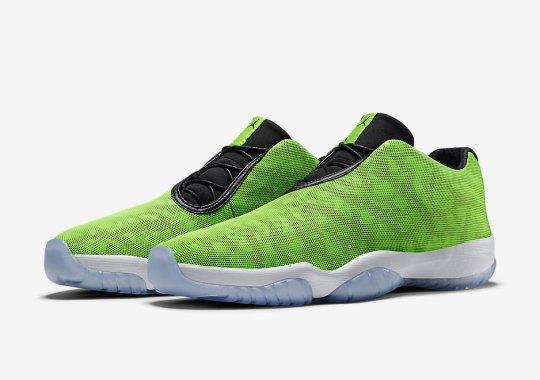 """The Jordan Future Low In """"Electric Green"""""""