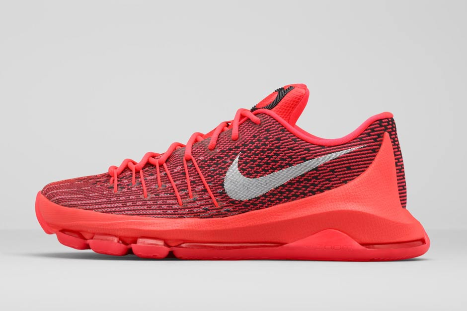 ... for the smaller size run of Kevin Durant's latest model, but check out  a better view below and know that you can find this KD 8 release early on  eBay.