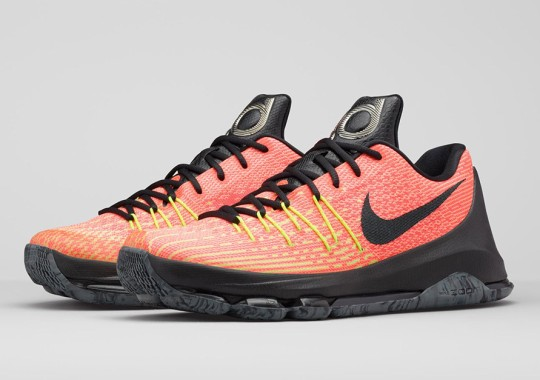 "Nike Showcases KD's Resilience with KD 8 ""Hunt's Hill Sunrise"""