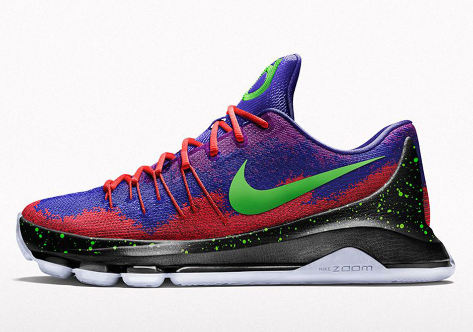 Nike Kd 8 - 2015 07 24 Nikeid Kd 8 Spray Paint Option Magasin D'usine