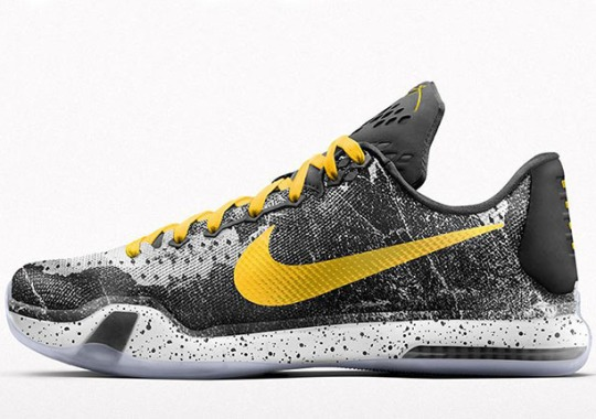 """Create Your Own """"Pain"""" With The NIKEiD Kobe 10"""