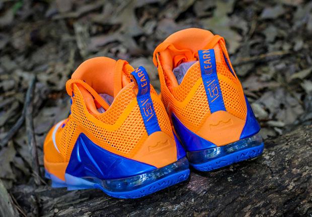 da6fd741e263 A Closer Look At The Nike LeBron 12 Low