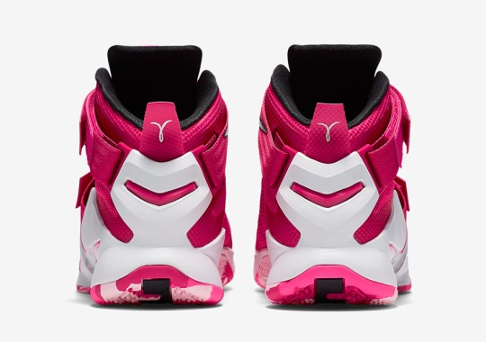Nike's Think Pink Is Back With A New LeBron Soldier 9