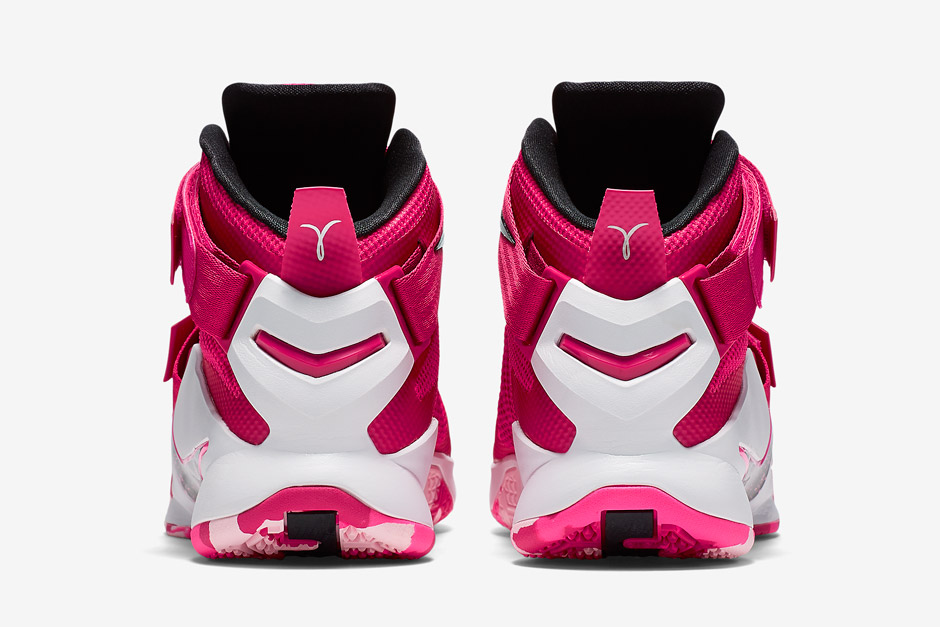 the best attitude fbba1 f8e24 Nike s Think Pink Is Back With A New LeBron Soldier 9 - SneakerNews.com