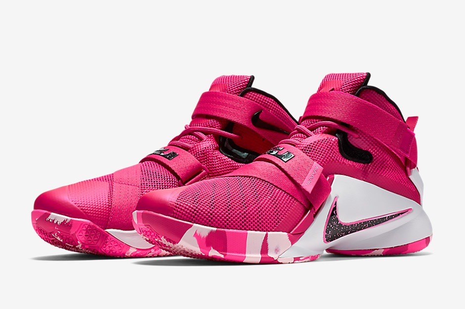 49e48fc7888c Nike s Think Pink Is Back With A New LeBron Soldier 9 - SneakerNews.com