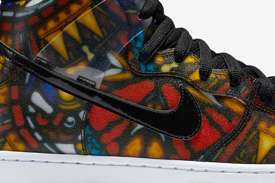 """0d651e80ea5d The Concepts x Nike SB Dunk High """"Stained Glass"""" will arrive at retailers  on August 14th"""