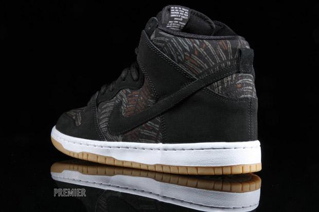 Nike Dunk Hi Arbres De Gomme Noire wTgqE
