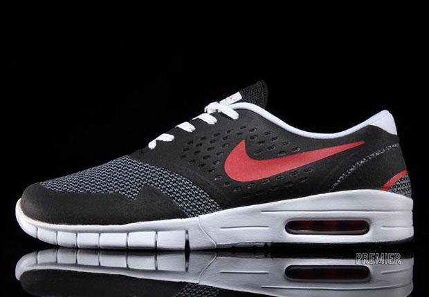 Nike SB Koston 2 Max - Black - Cool Grey - University Red - SneakerNews.com 98ea222939