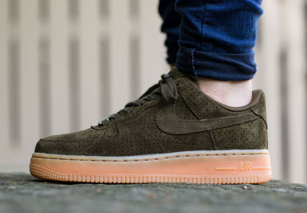Dark Suedes And Gum Soles Look Incredible On The Nike Air